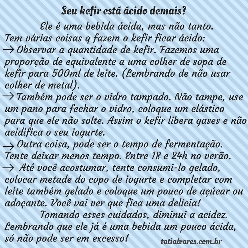 Kefir acido